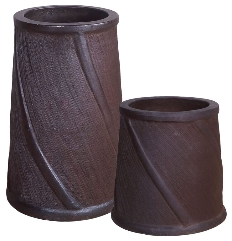 Salt Glazed Chimney Pots