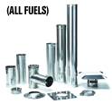 316L Rigid Chimney Liner Components