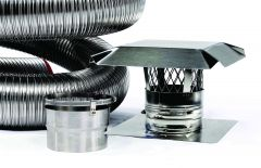 FireFlex Pre-Insulated Basic Chimney Liner Kit