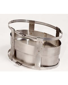 Oval Coupler With EZ Clamp
