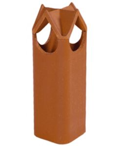 Dry Top 12 x 12 1404 Clay Chimney Pot