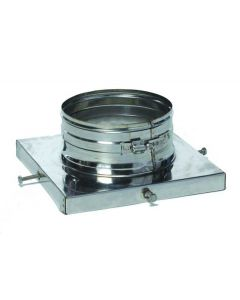 304 Flue Fit Top Plate