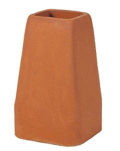 Style C 13 x 13 1460 Clay Chimney Pot