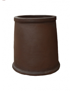 Medium Windsor Smooth Salt Glazed Chimney Pot V1481x