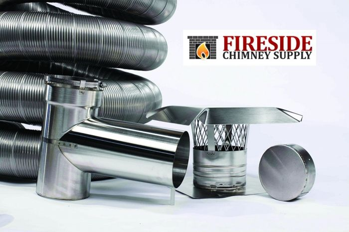 Astounding Smooth Wall Chimney Liner Stainless Steel Flue Liner Home Remodeling Inspirations Genioncuboardxyz