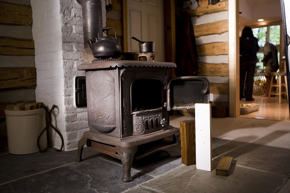napoleon wood burning stove